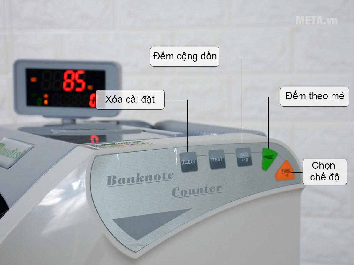 Bảng điều khiển máy đếm tiền Oudis