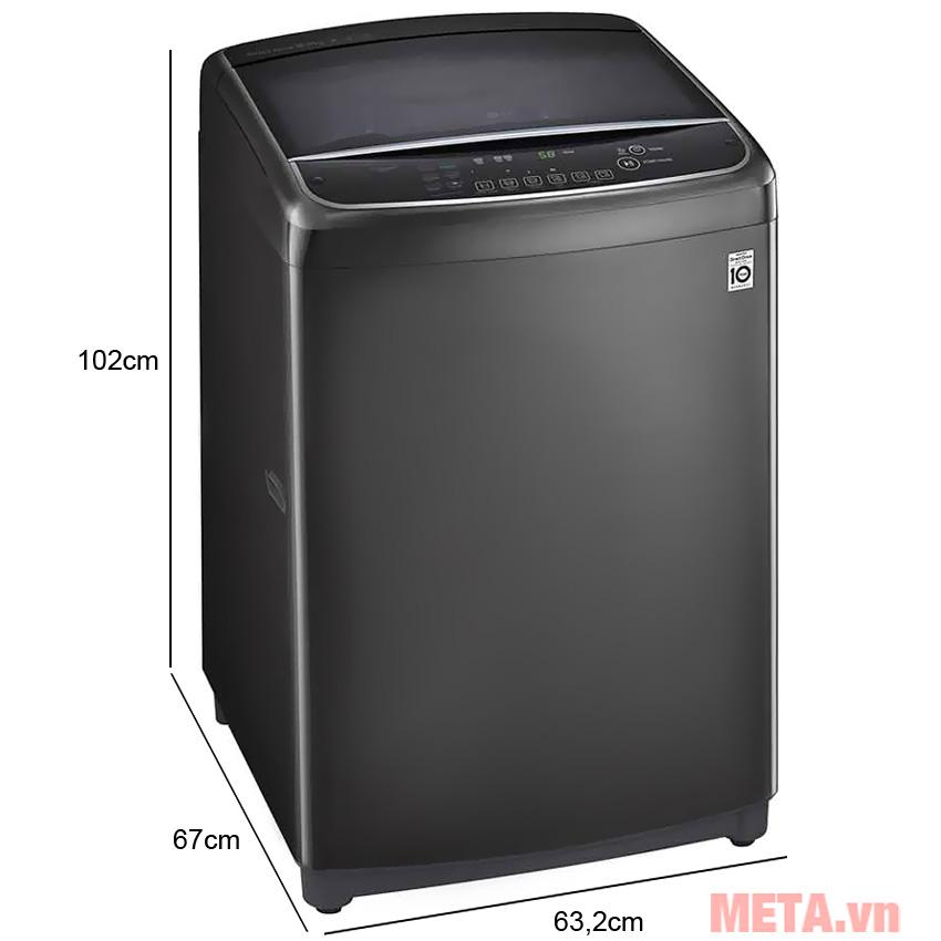 Kích thước của máy giặt