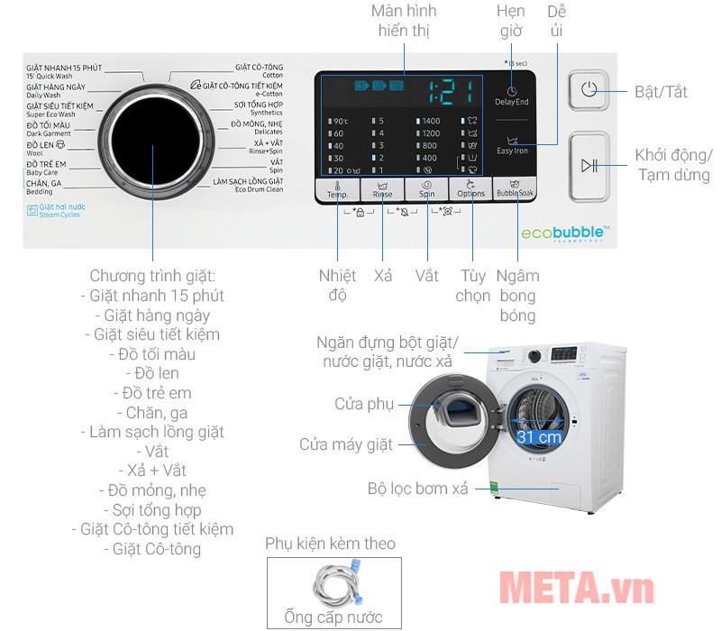 Các chương trình của máy giặt
