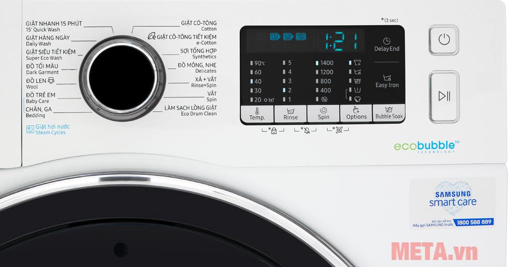 Máy giặt inverter Samsung