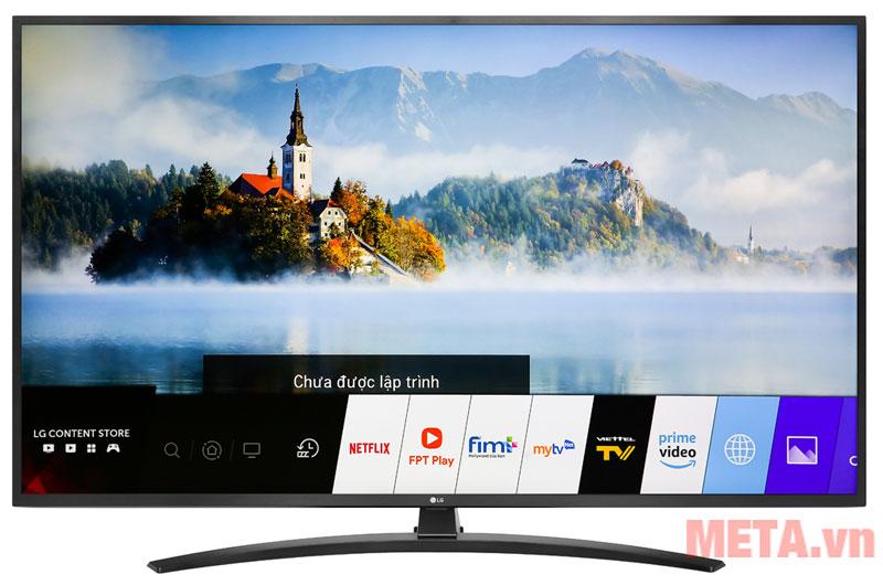 Tivi thông minh kết nối được với nhiều ứng dụng giải trí khác nhau