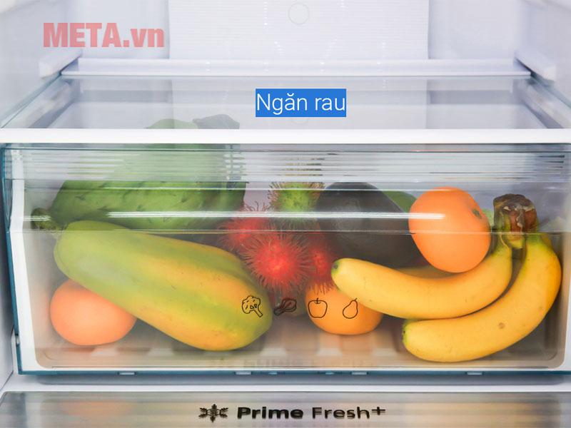 Mỗi ngăn chứa đều có hộp chứa riêng biệt giúp bảo quản thực phẩm tươi lâu hơn