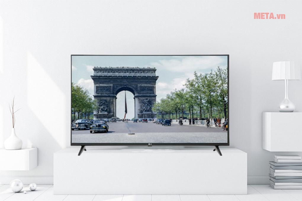 TV LG Smart 4K 55UM7290PTD sở hữu bộ xử lý Quad Core cho hình ảnh sắc nét, chân thực