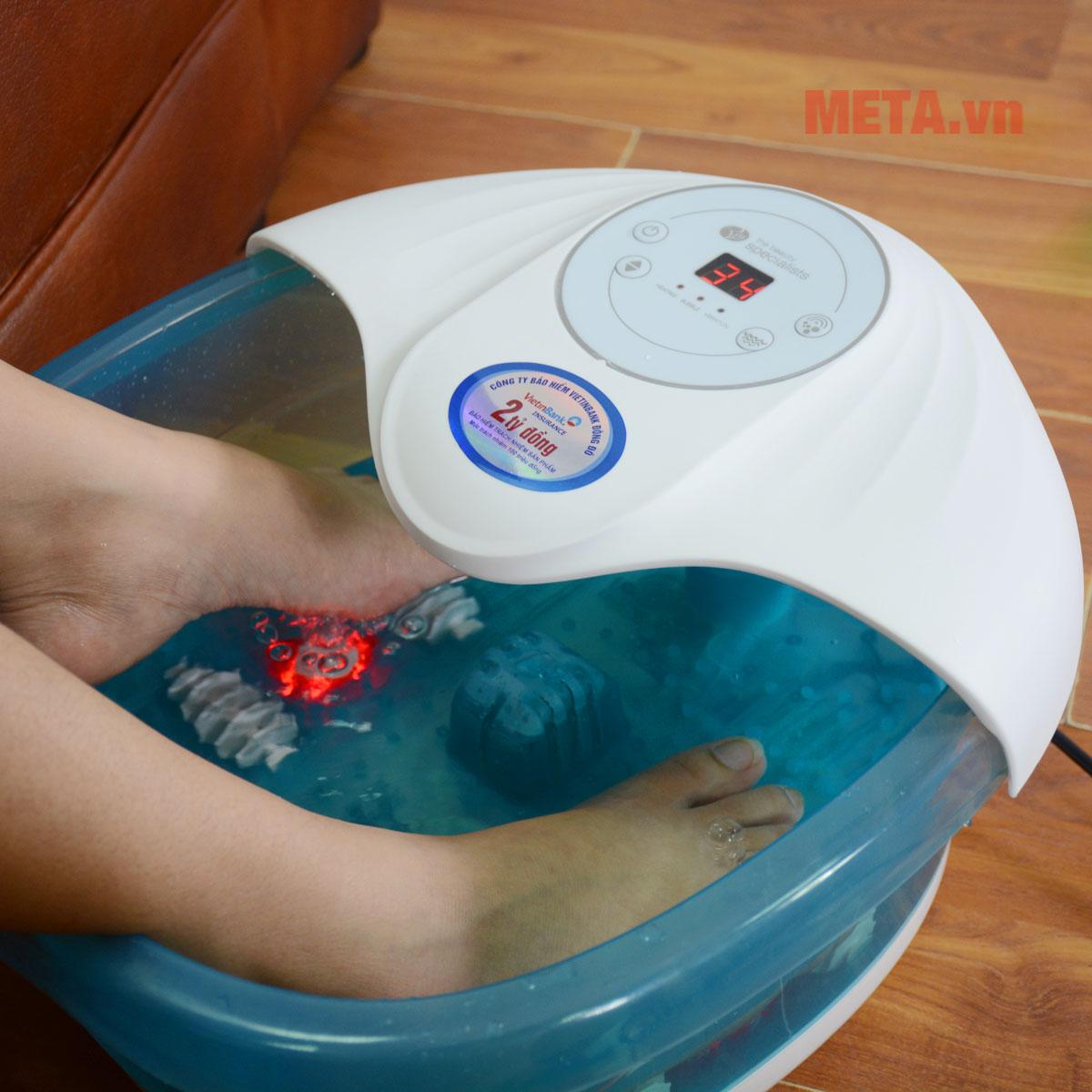 Hình ảnh bồn massage chân RIO