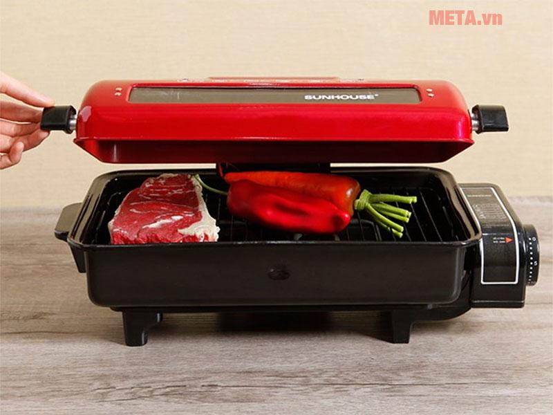 Lò nướng điện Sunhouse SHD4200 cho món nướng thơm ngon, hấp dẫn