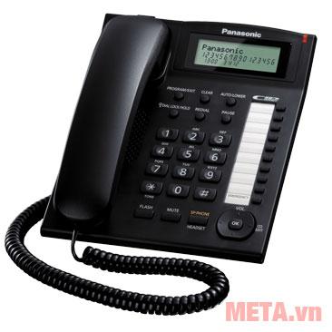 Điện thoại bàn Panasonic KX-TS880 màu đen