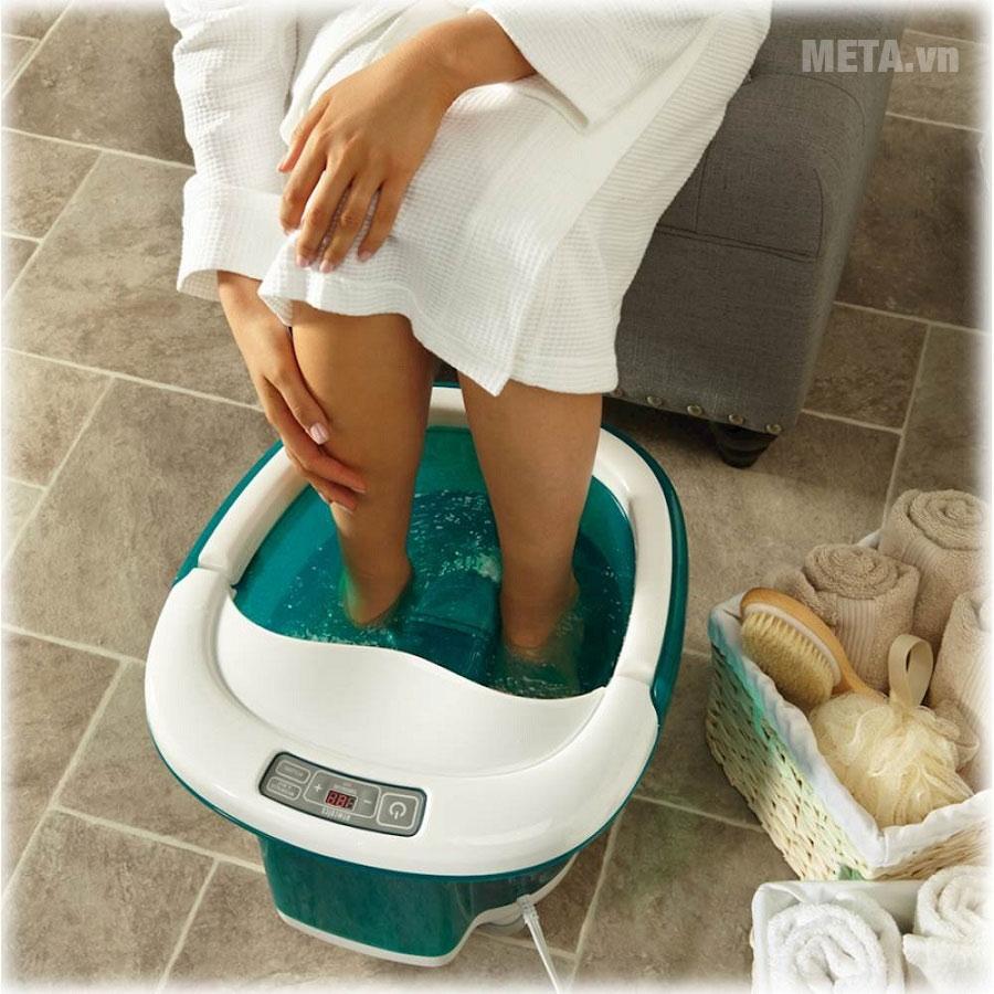 Bồn massage chân cao cấp HoMedics FB-650 giúp đôi bàn chân được thư giãn tối đa