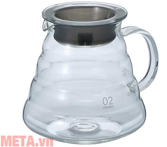 Bình đựng cà phê thủy tinh