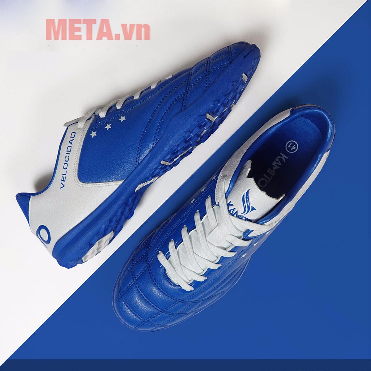 Giày đá bóng màu xanh dương
