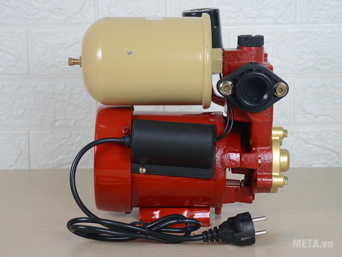 Máy bơm nước tự động tăng áp Shining SHP-128EA hoạt động với công suất 150W