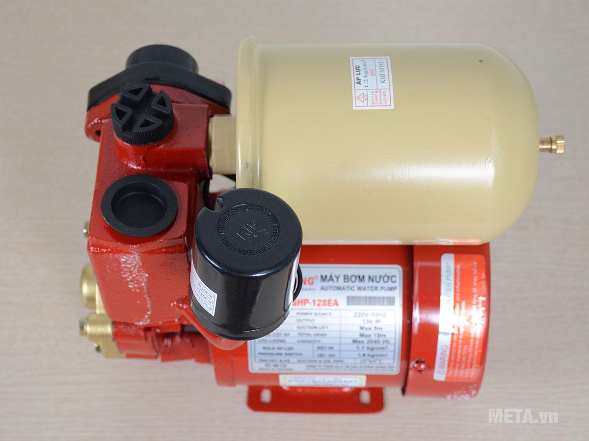 Shining SHP-128EA được trang bị rơ - le áp lực, tự động ngắt khi quá tải