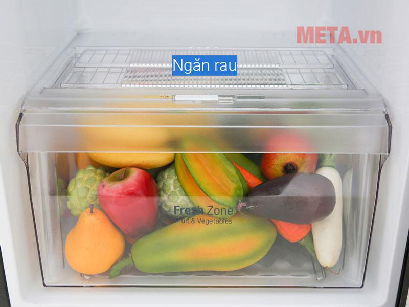 Ngăn chứa rau củ chuyên biệt giữ độ ẩm cho thực phẩm tươi lâu