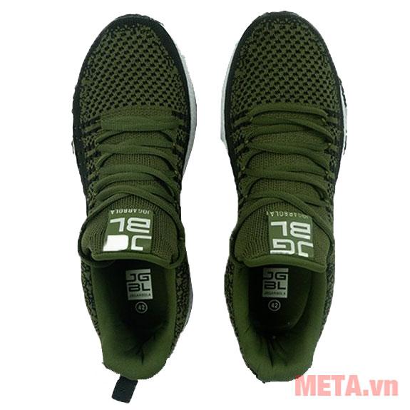 Giày chạy bộ xanh lá cây