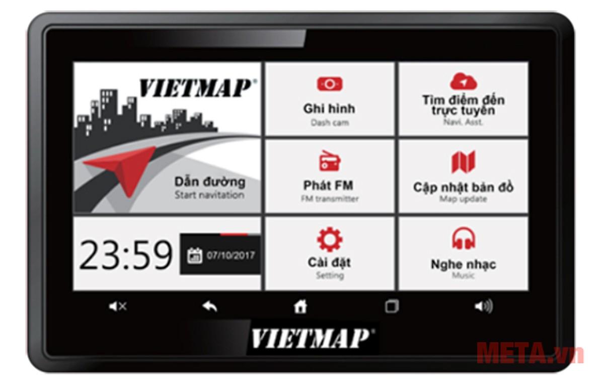 Hình ảnh camera hành trình Vietmap W810