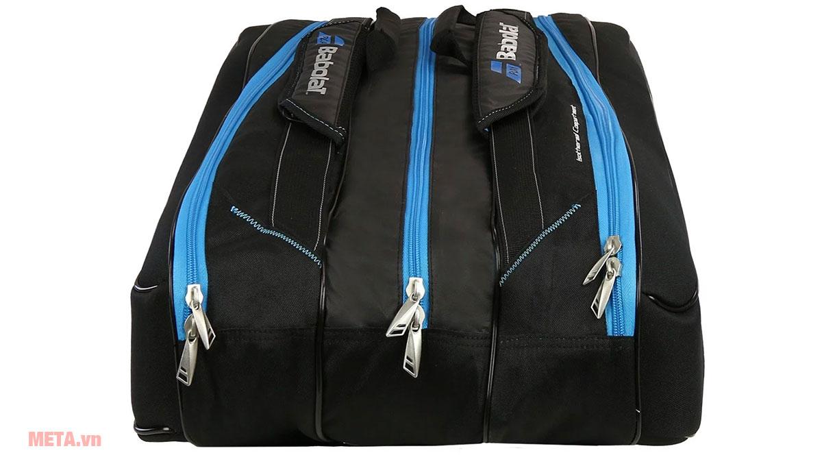 Túi tennis Babolat Team Line có thể đựng tối đa 8 cây vợt tennis