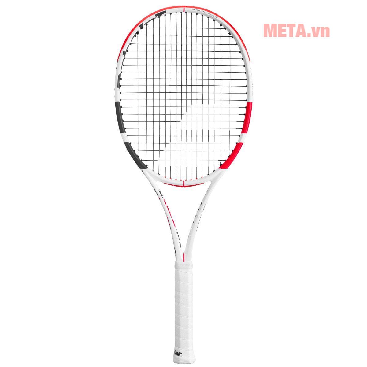 Vợt tennis đan dây 16 x 19, khuyến cáo căng dây 22 - 26kg