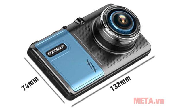 Camera hành trình Vietmap A50 tích hợp ghi hình trước và sau