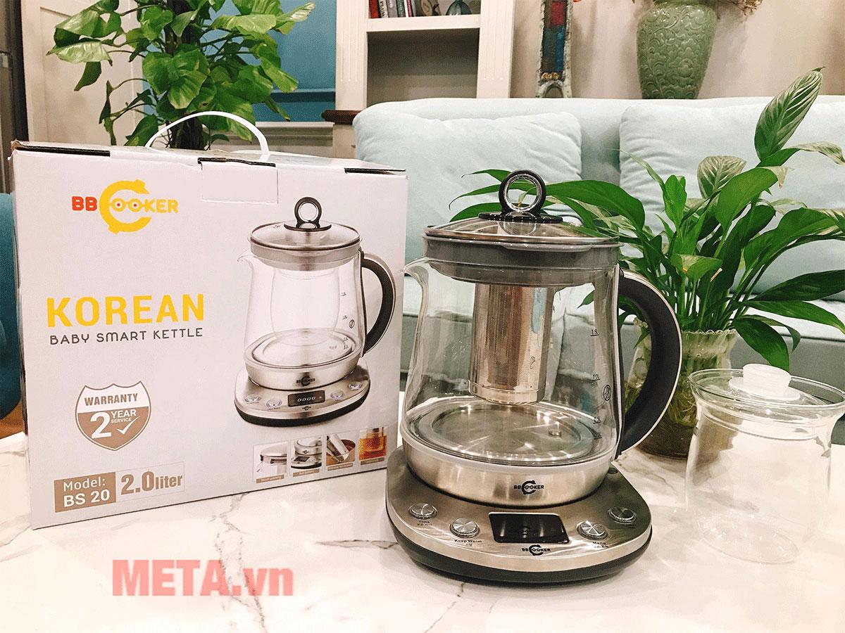Dùng để pha trà hoặc hâm nóng sữa tiện dụng