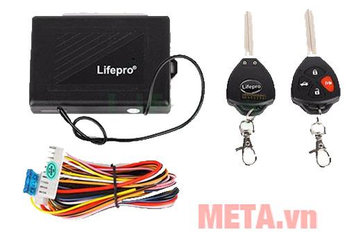 Bộ điều khiển khóa cửa ôtô Lifepro L582- RC 12V