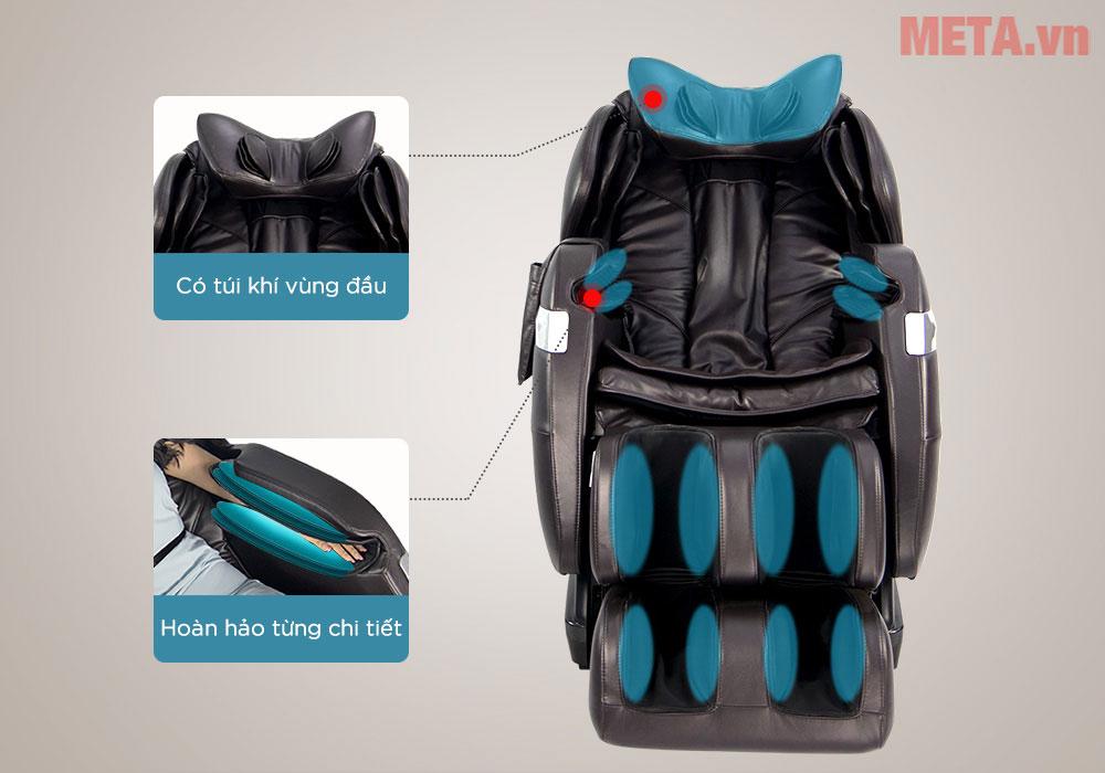 Ghế massage có túi khí