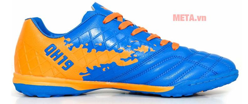Giày đá bóng sân cỏ màu xanh vàng