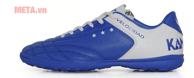 Giày đá bóng sân cỏ màu xanh dương