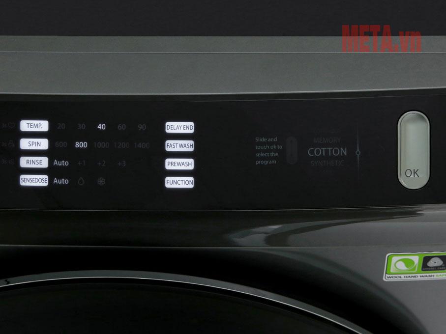 Bảng điều khiển cảm ứng mượt mà tiện dụng