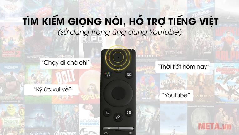 Tìm kiếm giọng nói, hỗ trợ tiếng Việt