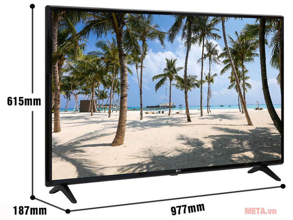 Kích thước Tivi LG Full HD 43 inch 43LK571C