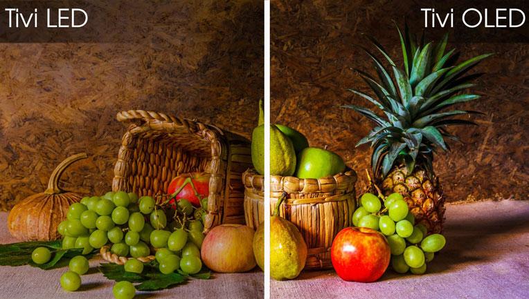 Màn hình OLED cho hình ảnh sắc sảo, màu sắc chân thực