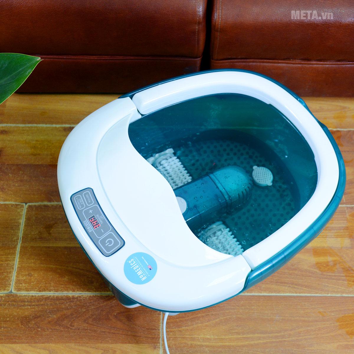 Bồn massage chân cao cấp HoMedics FB-650 có thể massage khô và ướt