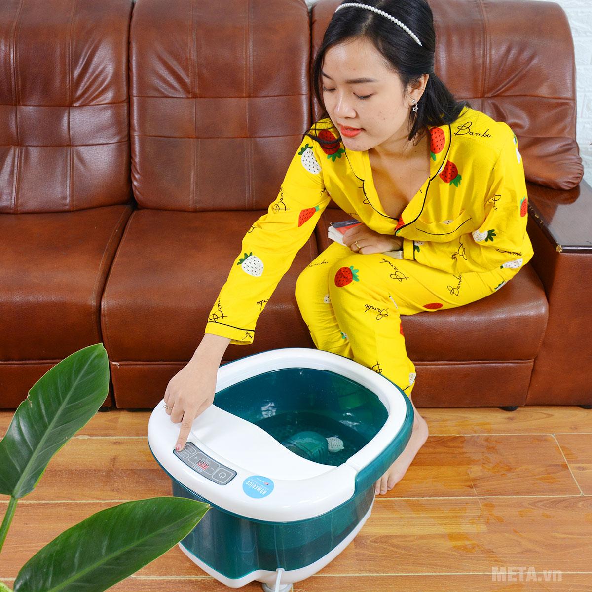 Bồn massage chân cao cấp HoMedics FB-650 giúp thư giãn thoải mái