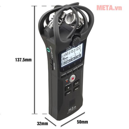 Máy thu âm Zoom H1N thiết kế cầm tay nhỏ gọn
