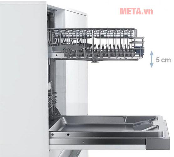 Khay đựng bát chén có thể sắp xếp hợp lý cho 9m bộ bát đĩa