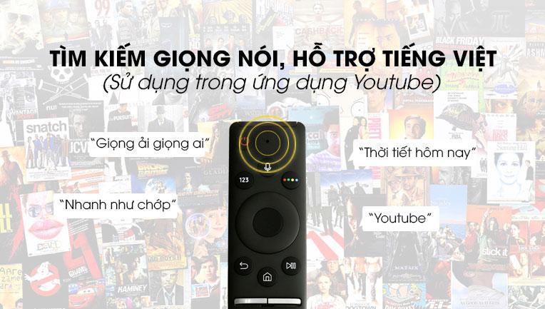 Tìm kiếm chương trình giải trí thông qua giọng nói