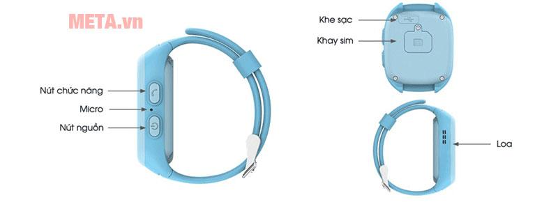 Các bộ phận của chiếc đồng hồ Kiddy 2