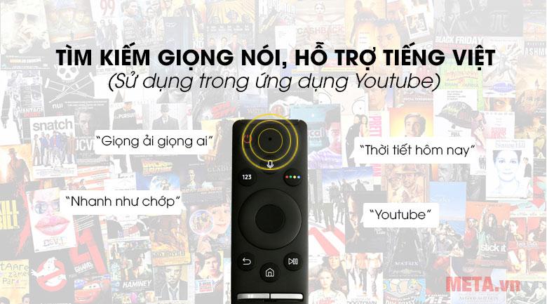 Tivi hỗ trợ tìm kiếm bằng giọng nói