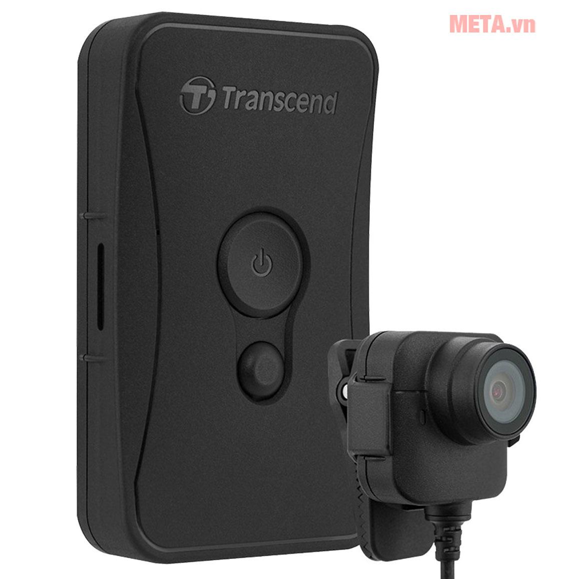 Transcend DrivePro Body 52 hỗ trợ kết nối Internet qua Wifi
