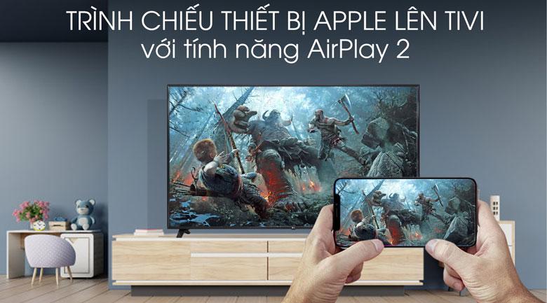 Tivi hỗ trợ tính năng Airplay 2