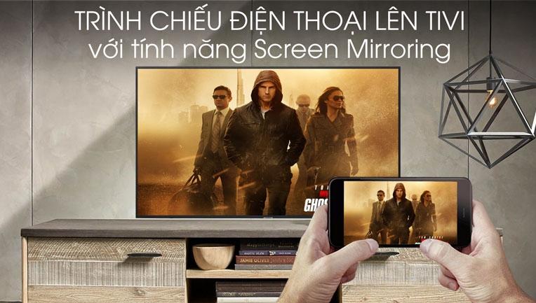 Trình chiếu điện thoại lên tivi