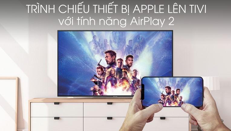 Trình chiếu thiết bị Apple lên tivi