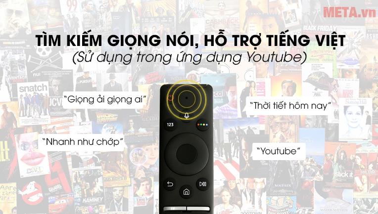 Tivi hỗ trợ tìm kiếm giọng nói