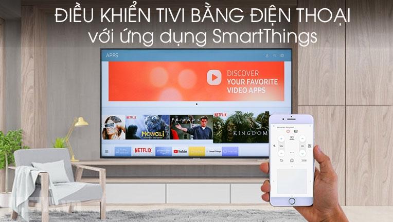 Điều khển tivi bằng điện thoại