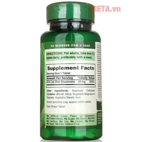 Sản phẩm được chiết xuất 100% từ các loại thảo dược tự nhiên rất an toàn cho người sử dụng