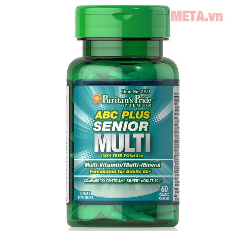 Vitamin và khoáng chất cho người trung niên
