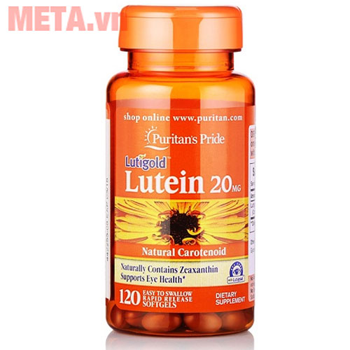 Puritan's Pride Lutein 20 mg with Zeaxanthin (4904)