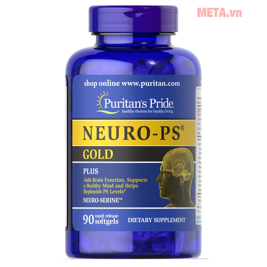 Puritan's Pride Neuro-PS Gold (17148)
