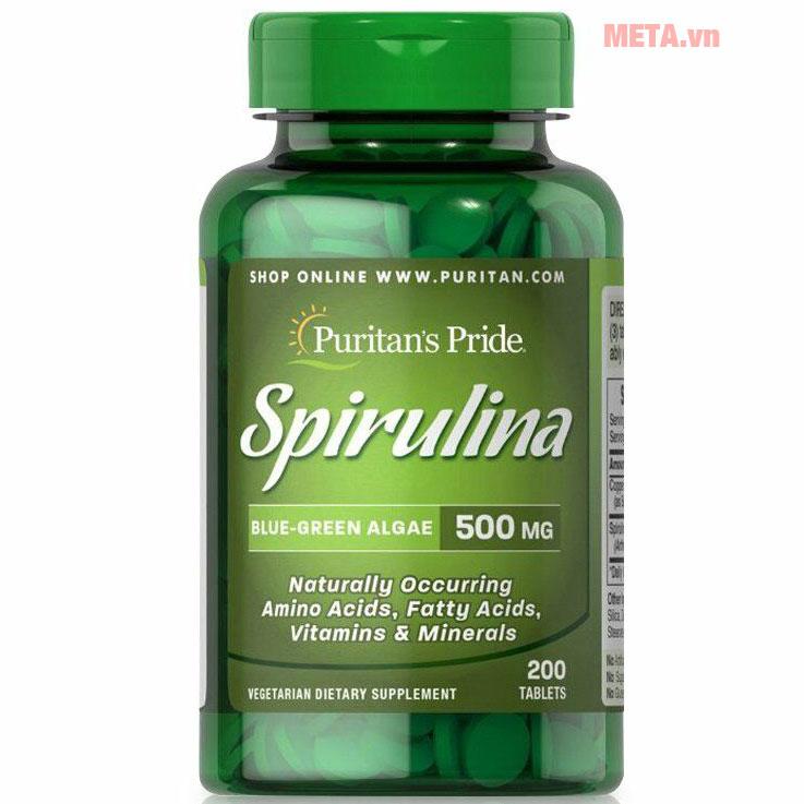 Puritan's Pride Spirulina 500 mg