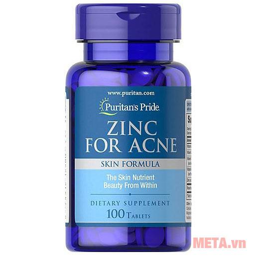 Zinc for Acne Puritan's Pride
