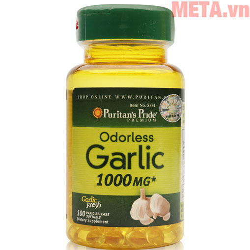 Puritan's Pride Odorless Garlic 1000 mg